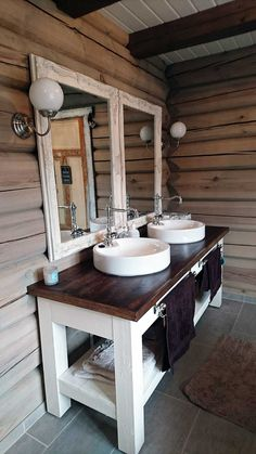 Basement Bathroom, Bathroom Ideas, White Vanity, Ana White, Guest Bath, Double Vanity, Diy, Home, Do It Yourself