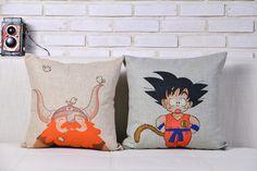 Pillow Cover Dragonball // Price: $29.90 & FREE Shipping Worldwide //    #shingekinokyojin #japanese #illustration #lol #dbz #doodle