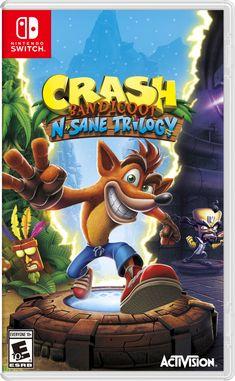 Crash Bandicoot N-Sane Trilogy Nintendo Switch Box by GoldMetalSonic