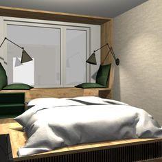 Návrh moderní ložnice na míru...#interiordesign#bedroom#modern#loznice#namiru Mirror, Bed, Furniture, Home Decor, Decoration Home, Stream Bed, Room Decor, Mirrors, Home Furnishings