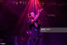 Eddie Vedder of Pearl Jam performs at Wells Fargo Center on April 29, 2016 in…