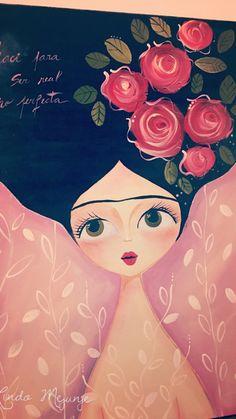 Kahlo Paintings, Mini Paintings, Arte Pallet, Arte Popular, Diy Arts And Crafts, Texture Art, Painting For Kids, Islamic Art, Love Art