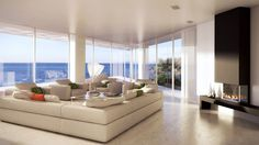 Spacious Residence with Spectacular Views Over the Sea: Home in Arsuf by Studio Aristo   Archifan Blog