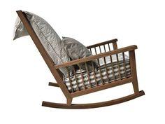 GARDEN FURNITURE - Sedia a dondolo in legno Gervasoni