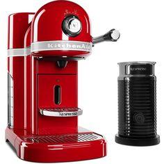 Nespresso 5-Cup Espresso Machine and Milk Frother,