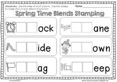No Prep Spring Math and Literacy Printables includes 30 different Math and Literacy activities for Kindergarten and First Grade. Check out the preview! $