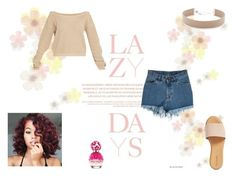 """""""Why lazy days are the best days?"""" by rarah-chan on Polyvore featuring moda, Lazy Days, Hinge, Jennifer Zeuner e Marc Jacobs"""