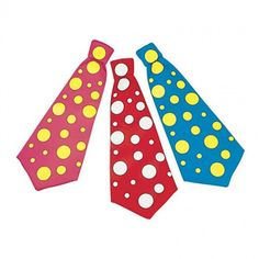 Large Pink & Yellow Polka Dot Tie on Elastic Clown Circus Fancy Dress Accessory for sale online Wedding Photo Booth, Photo Booth Props, Wedding Photos, Polka Dot Tie, Blue Polka Dots, Circus Fancy Dress, Accessoires Photo, Fancy Dress Accessories, Circus Birthday