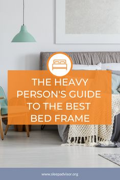 Best Bed Frame for a Heavy Person - Our Top 5 Heavy Duty Picks in 2020 - Iago Mostin Natural Sleep Remedies, Warm Bedroom, Sleep Solutions, Water Bed, Healthy Sleep, Best Mattress, Good Sleep, Cool Beds, Body Check