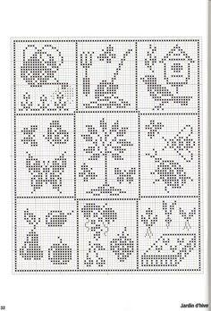 chicken, goose, rooster, turkey, farm chart cross-stitch or filet crochet – BuzzTMZ Filet Crochet Charts, Knitting Charts, Cross Stitch Charts, Cross Stitch Designs, Crochet Stitches, Cross Stitch Patterns, Doily Patterns, Crochet Patterns, Cross Stitching