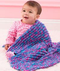 Speedy One-Row Baby Blanket & Work up this adorable knit baby blanket in no time. So speedy! The post Speedy One-Row Baby Blanket Baby Knitting Patterns, Baby Patterns, Crochet Patterns, Blanket Patterns, Baby Afghans, Easy Knitting, Loom Knitting, Crochet Baby, Knit Crochet