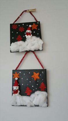 Easy Crafts For Kids, Christmas Crafts For Kids, Xmas Crafts, Diy For Kids, Diy And Crafts, Christmas Art Projects, Christmas Games, Christmas Ornaments, Childrens Christmas