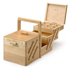 Sewing Box with 5 Drawers by Trina Mae Whitehead