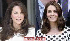 Kate Middleton sports new shorter cut at Wimbledon