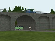 Stahlfachwerkbrückenbaukasten Set 6