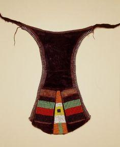 apron  Materials skin, metals > metal, bead  Place of collecting Kenya > Rift Valley province > Turkana district  Culture Turkana