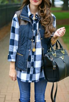 30 Stylish Casual Outfits with Flannels for Women to Copy Now You will be amazed by how a very simple swap can update your whole appearance. The casual look is readily the most vibrant once you're in a position to… Continue Reading → Adrette Outfits, Preppy Outfits, Fashion Mode, Look Fashion, Womens Fashion, Fashion 2018, Fashion Boots, Autumn Fashion Casual, Winter Vest