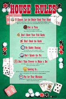 Rules for playing poker in vegas