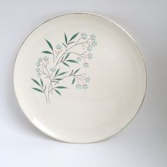 Taylor Smith & Taylor, Petal Lane plate - one by PowersMod on Etsy