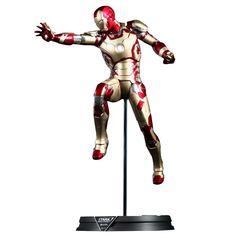 The Iron Man Mark 42 Power Pose Figure!