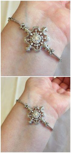 A glorious diamond bracelet by Kataoka.
