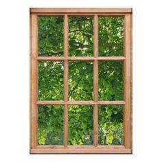 Window View, Window Wall, Window Glass, Window Frames, Interior Definition, Window Poster, Faux Window, Pallet House, Garden Windows