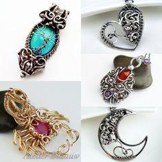 Stunning handmade pendants by Atelier Blaauw