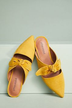 Jeffrey Campbell Charlin Bow Mules