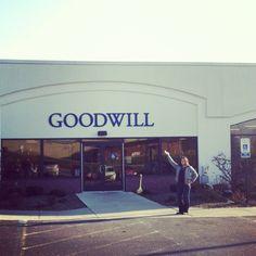 #Goodwill Tour 2012.  Goodwill #Johnstown.  Johnstown, #Pennsylvania. #thrift #fan