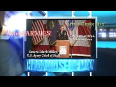 WHOA! Chief Of Staff US Army WARNS OF ALIEN UFO INVASION!!? WHISTLE BLOWER General Mark Milley 2016 - YouTube