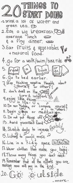 20 things to do