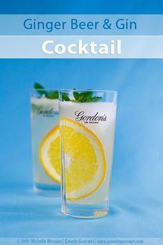 Ginger Beer & Gin Cocktail