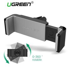 It doesn't get any better than this!   Ugreen Car Phone ...   http://www.zxeus.com/products/ugreen-car-phone-holder-for-iphone-7-mobile-phone-holder-stand-360-rotation-air-vent-mount-holder-stand-for-samsung-holder-stand?utm_campaign=social_autopilot&utm_source=pin&utm_medium=pin