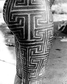 pintura corporal indígena                                                       …