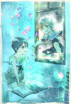 Shun & Satoru | Shinsekai Yori