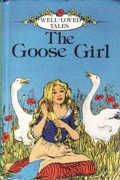 """Fig. 7. """"I've grown accustomed to this life, the goose girl went on. I have found the fields are wider than any garden. I was always nervous, when I was a princess, in case I would forget what to do"""" (Donoghue 287)."""