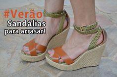 #Verão: Sandálias para arrasar | Por Fê Gonçalves