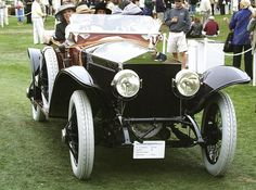 1926 Rolls-Royce 40/50 HP Silver Ghost Skiff Torpedo by Labourdette