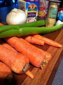 Table Recipe; Carrot Ginger Soup