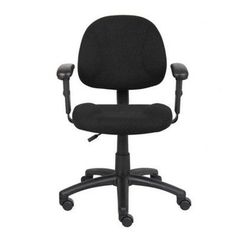 Office Star Office Chair - Pin it :-) Follow us :-)) AzOfficechairs.com is your Office chair Gallery ;) CLICK IMAGE TWICE for Pricing and Info :) SEE A LARGER SELECTION of  officestar office chair at  http://azofficechairs.com/?s=office+star+office+chair -  office, office chair, home office chair -  Adjustable Deluxe Low-Back Office Chair Fabric: Black Tweed, Arms: Not Included « AZofficechairs.com
