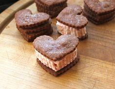 Mocha shortbread cookies... Looks delish!