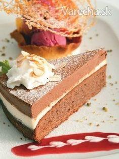 Čokoládový koláč s whisky krémom - recept | Varecha.sk