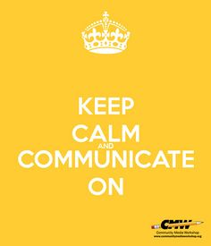 Nonprofit Crisis Communications | Keep Calm & Communicate On… | Flickr