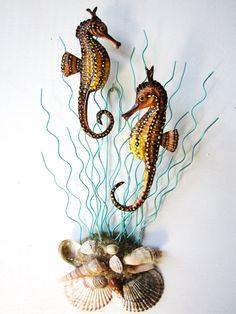 Seahorse art by artistJP on Etsy, $35.00