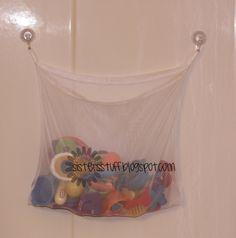 Shampoos, Bath toys and Storage on Pinterest