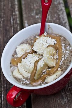 Chocolate Protein Vegan Overnight Oats via Oh She Glows