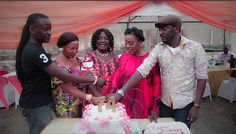 EkpoEsito.Com : John Njamah's mom celebrates 74th birthday