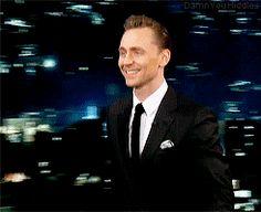Damn you, Hiddles!  Tom Hiddleston on Jimmy Kimmel Live!, 9th March 2017