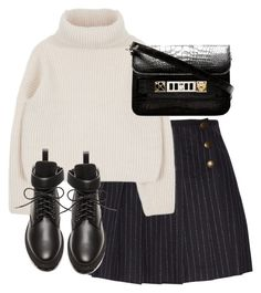 """""""Untitled #5622"""" by theeuropeancloset on Polyvore featuring See by Chloé, Balenciaga and Proenza Schouler"""