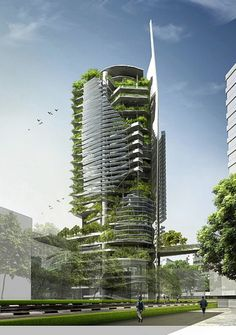 Vertical Farming: Feeding our future! Vertical Farming: Feeding our future! An interesting article about the history of nations trying to feed themselves and the future of food security. Architecture Design, Green Architecture, Futuristic Architecture, Sustainable Architecture, Beautiful Architecture, Contemporary Architecture, Landscape Architecture, Condominium Architecture, Sustainable Building Design